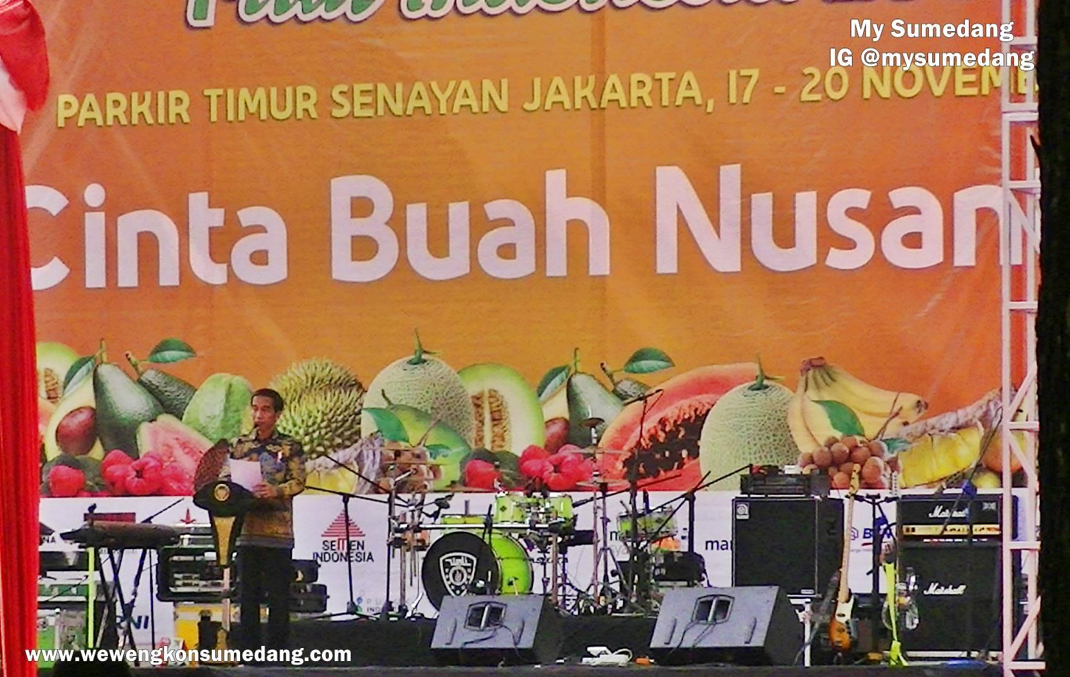 Buah Khas Sumedang Ramaikan Fruit Indonesia 2016