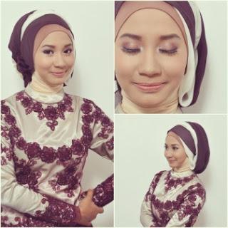 Hijab untuk kebaya pesta