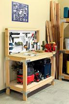 DIY Workbench Storage Ideas