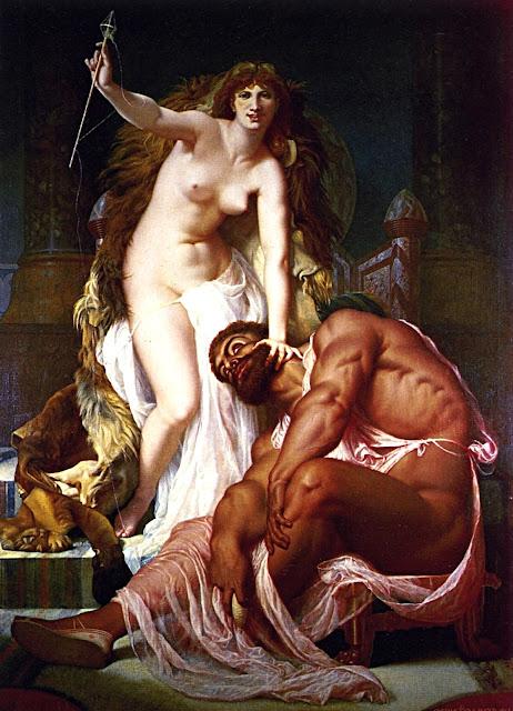 Gustave Boulanger: Ercole e Onfale