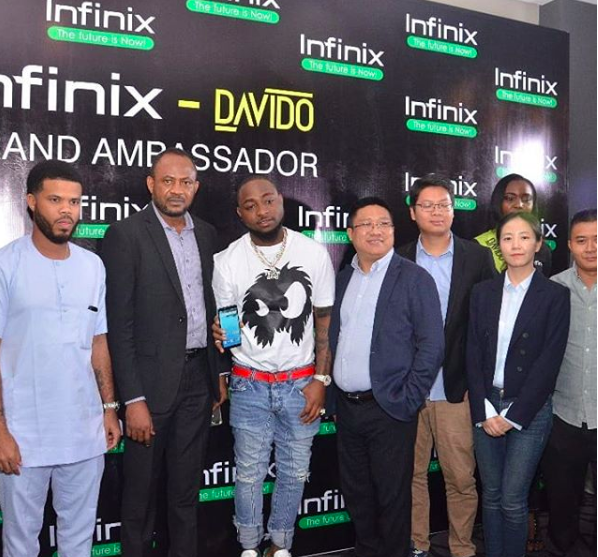 News In Pictures: Davido Signed Multi Million Brand Ambassador Deal