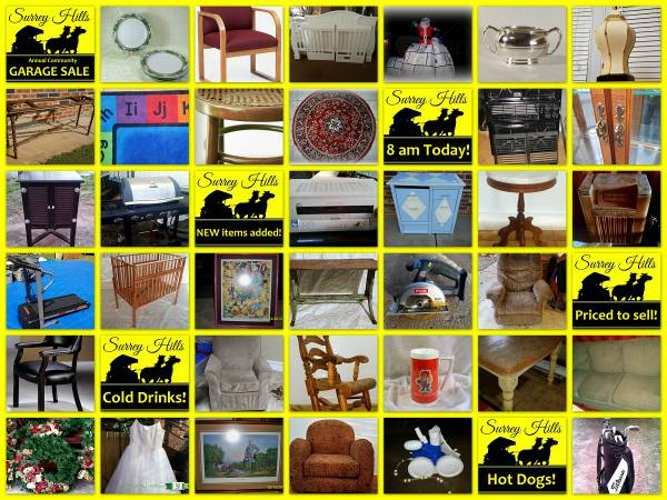 Surrey Hills Annual Garage Sale in Oklahoma City - Garage Sales OKC