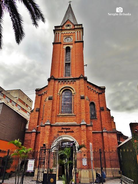 Vista ampla da Paroquia Santo Agostinho - Liberdade - São Paulo