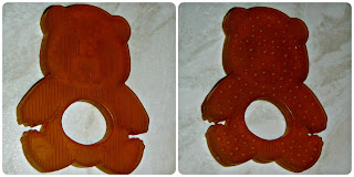 Hevea Natural Rubber Panda Teether Textures Both Sides