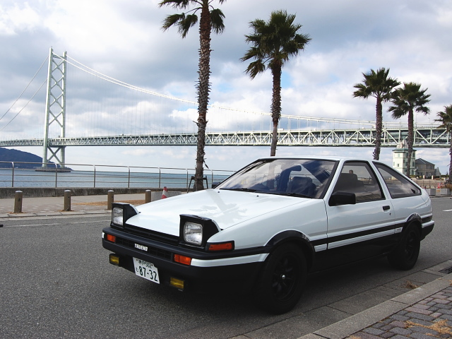 cars today the legend 1984 toyota sprinter trueno gt apex. Black Bedroom Furniture Sets. Home Design Ideas