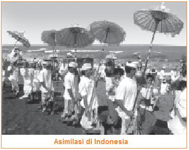 Proses, Faktor Pendorong dan Penghambat, Contoh Asimilasi di Indonesia