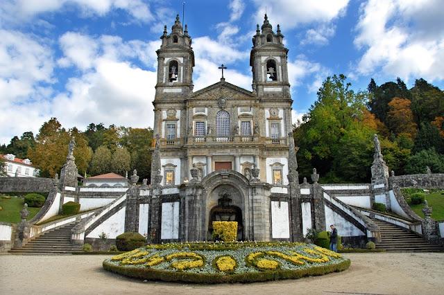 Santuário do Bom Jesus do Monte em Braga
