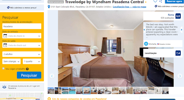Estadia no Travelodge by Wyndham Pasadena Central
