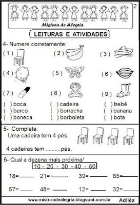 Leitura com a letra C