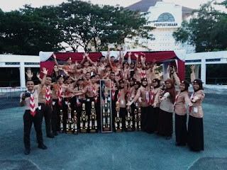 SMK SAKTI Kembali Menjuarai Piala Dibidang Pramuka