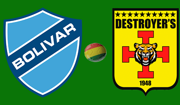 En vivo Bolívar vs. Destroyers - En Vivo - Online - Torneo Apertura 2018