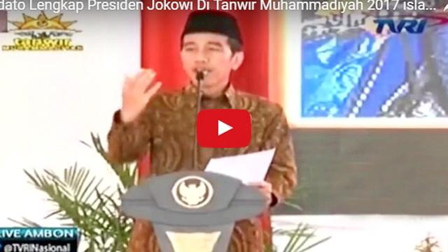 Video: Netizen Heboh Ketika Jokowi Ucapkan 'La Kalo Kala Kata Lila Billah'