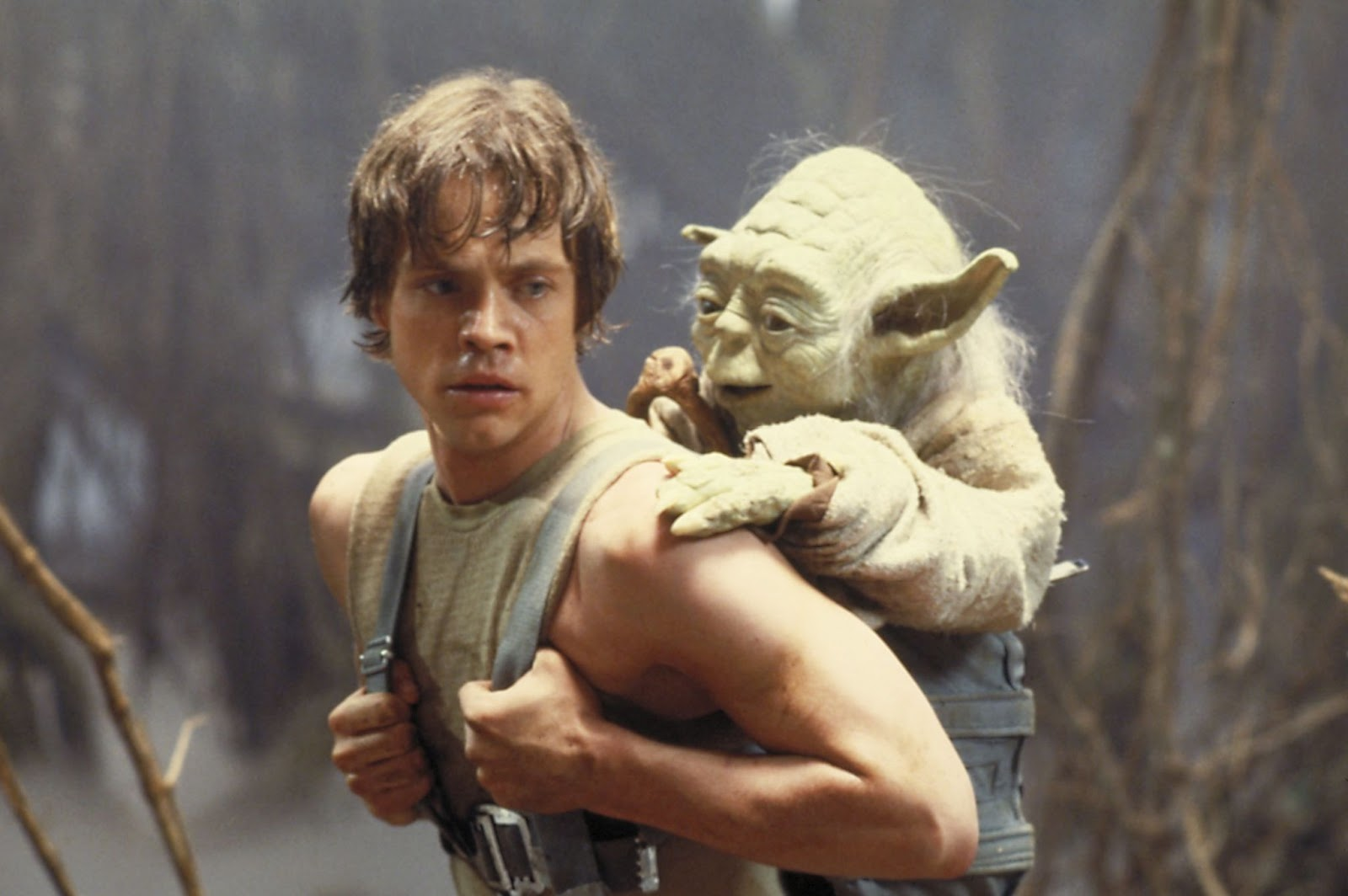 Images: The Force Awakens Cut Scene Image Reveals a Young Luke