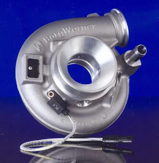 Sensore di giri turbina a correnti parassite montato sull'aspirazione