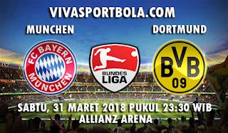 Prediksi Bayern Munchen vs Borussia Dortmund 31 Maret 2018
