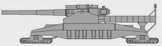 Landkreuzer P 1500 Monster prototipo
