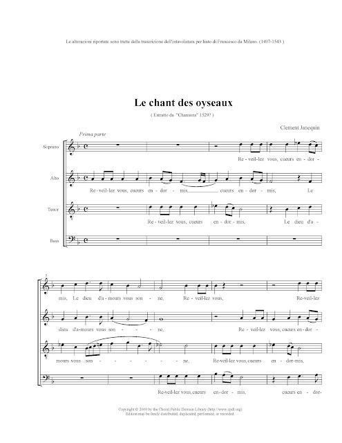 Le Chant des oyseaux - page 1