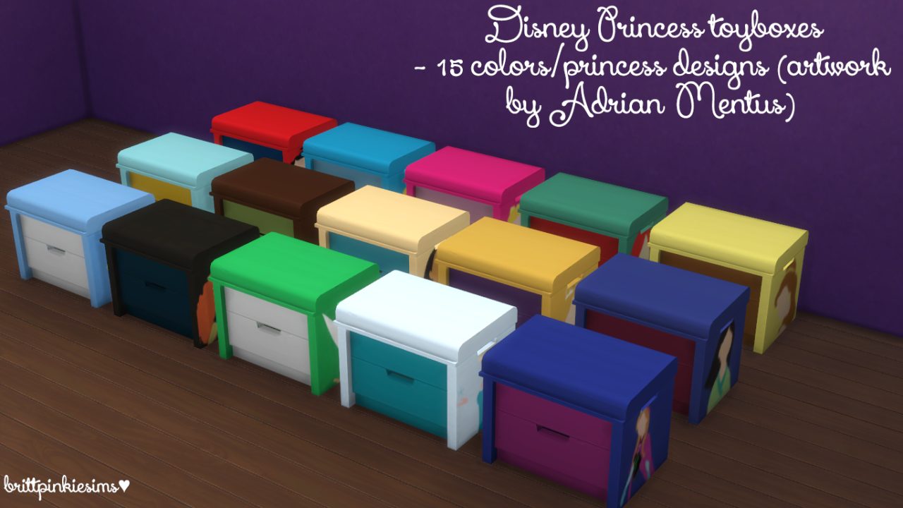 my sims 4 blog disney princess bedroom set by brittpinkiesims