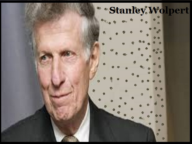 Stanley Wolpert Died Recently At The Age Of 91
