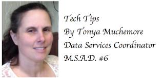 Tonya tech tips