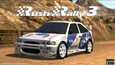 Rush Rally 3 MOD APK+DATA