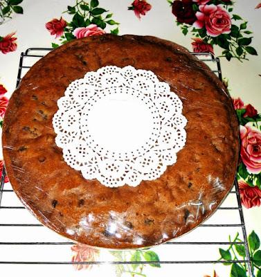 Kek Buah sedap menggunakan pure butter, kek buah kukus 4jam
