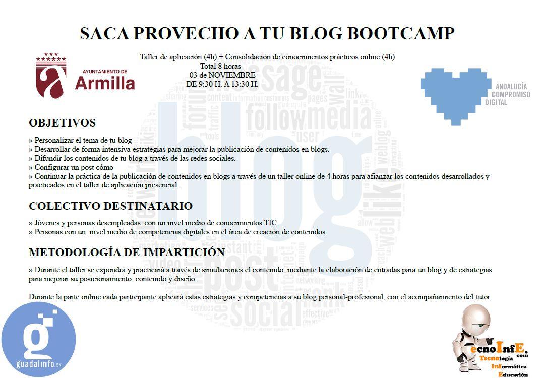 Tecnoinfe tecnolog a inform tica y educaci n taller bootcamp saca provecho a tu blog - Oficina virtual de fpe ...