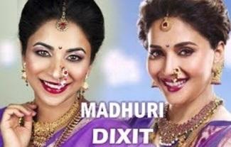 MADHURI DIXIT Inspired Bollywood Makeup Tutorial
