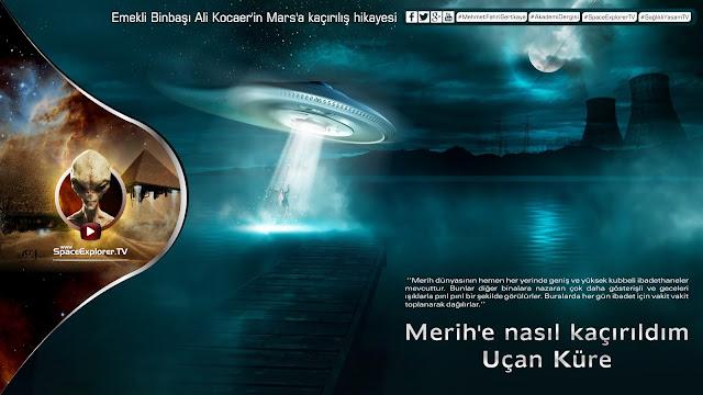 Ali Kocaer, Mars, Mars'lılar müslüman mı, Mars'ta yaşam var mı, Merih, Merih'e nasıl kaçırıldım, Müslüman uzaylılar, Uçan daire, Uçan Küre, Uzayda hayat var mı?,
