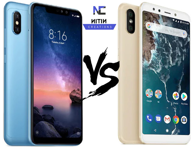 Xiaomi Redmi Note 6 Pro vs Mi A2: Specifications, Price Comparison