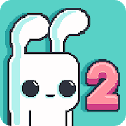 Yeah Bunny 2 - pixel retro arcade platformer Unlimited (Coins - Carrots) MOD APK