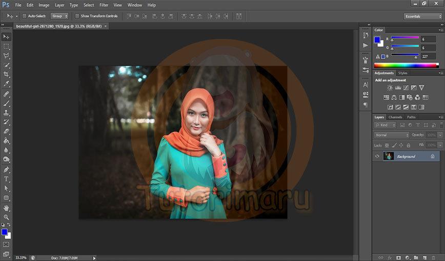 Cara Membuat Pas Foto Dengan Ukuran 2x3, 3x4 dan 4x6 di Photoshop ...