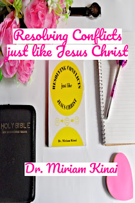 Resolving Conflicts just like Jesus Christ uses Bible examples from people like Jesus Christ and King Solomon to teach you:  * Christian conflict resolution strategies  * Third party mediation techniques  * Conflict reduction and prevention tactics