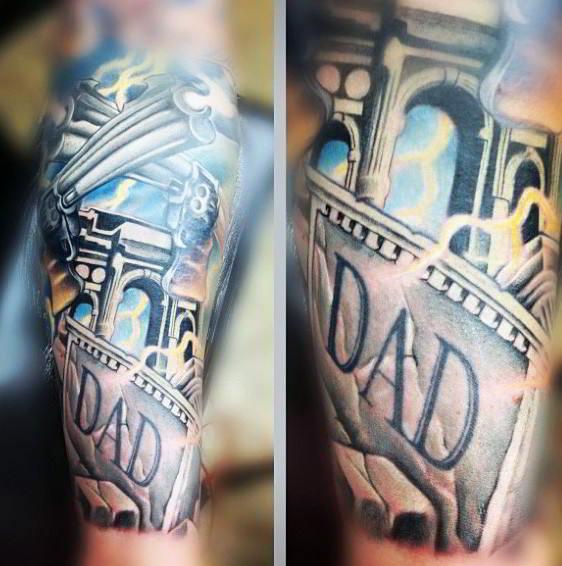 tatuajes para un padre