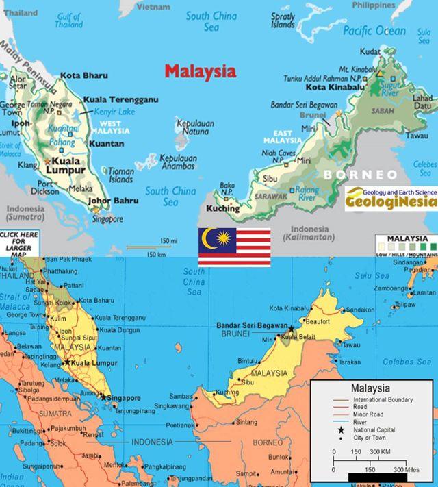 Melihat secara jelas profil gambar peta indonesia lengkap beserta keterangannya, letak negara dan batas wilayah, kota besar serta sumber. Peta Negara Malaysia Lengkap Dengan Sumber Daya Alam Kota Batas Wilayah Dan Keterangan Gambar Lainnya