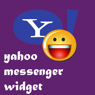 Widget Yahoo Messenger di Blog