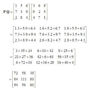 Kumpulan Contoh Soal Contoh Soal Matriks Perkalian