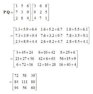 contoh soal matriks perkalian