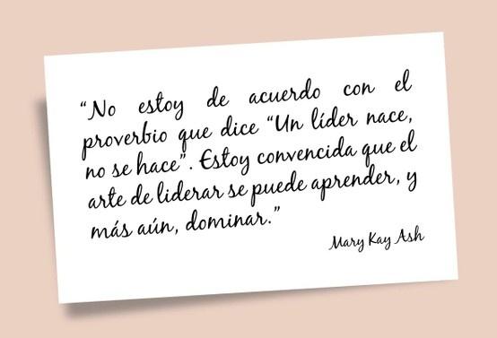 Frase Mary Kay