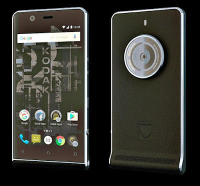 كوداك توفر هاتف الأندوريد Ektra للبيع في 9 ديسمبر بسعر 499يورو.