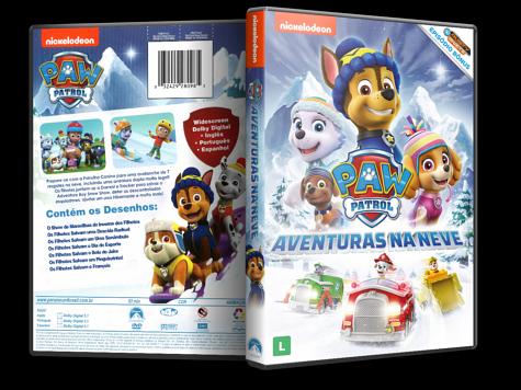 Capa DVD Paw Patrol: Aventuras na Neve