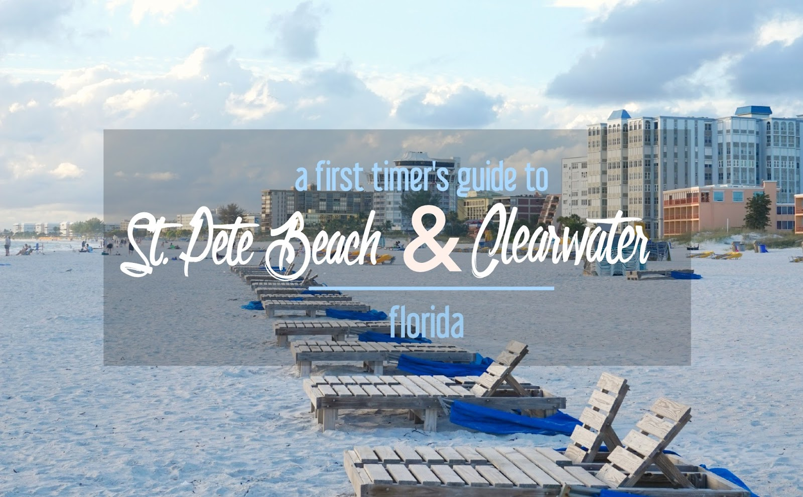 A First-Timer's Guide to St  Pete Beach, Florida: Where to