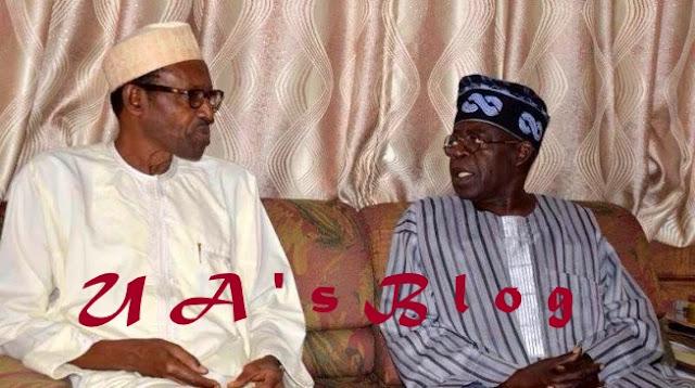 2019: Tinubu meets Buhari to discuss Ambode's second-term ambition