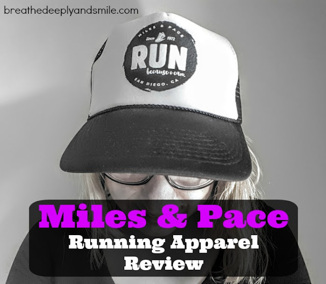 Miles & Pace Running Apparel {Review}