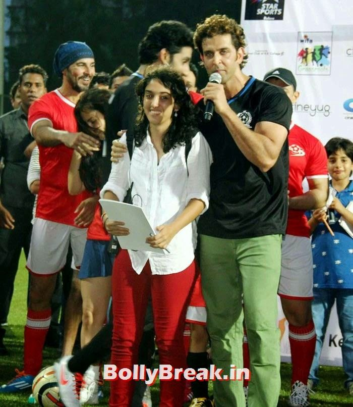 Ira Aamir Khan, Hrithik Roshan, Bollywood Celebs play football match for Aamir khan's daughter Ira Khan