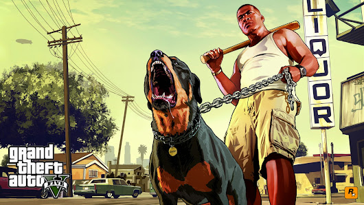 Grand Theft Auto 5 With Headings
