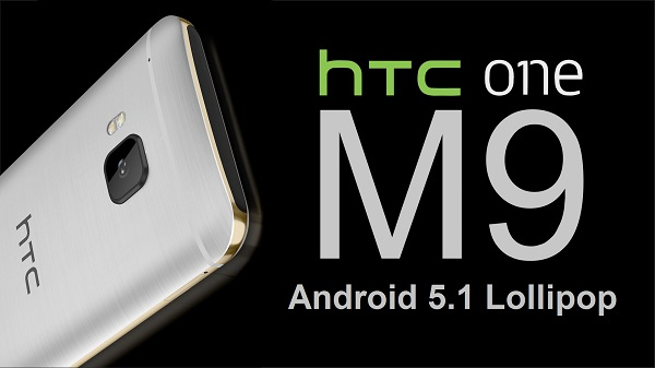 HTC ONE M9 ANDROID 5.1 LOLLIPOP