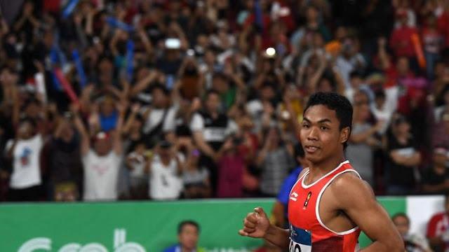 Lalu M Zohri Rebut Medali Perak di Kejuaraan Atletik Asia 2019