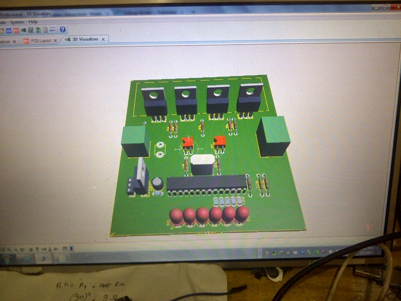 My electronic project, inverter, microcontroller: SineWave