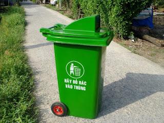 thùng đựng rác y tế 120 lít